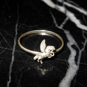 Pegasus Winged Horse Greek Mythology Fantasy Sterl